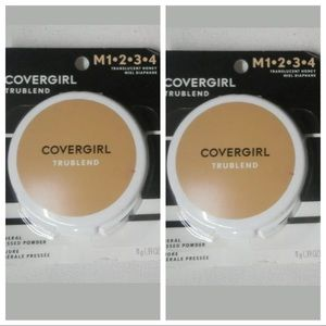 5/$25 (2) Covergirl Powders Translucent Honey New